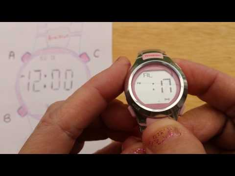 Armitron 4 Button Digital Sports Watch - Set and Activate Alarm -(Also, most Timex 4-Button Watches)