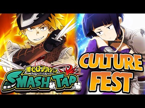 MY WIFE JIRO! NEW CULTURE FEST SUMMONS - My Hero Academia Smash Tap