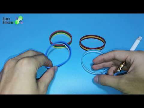 multi color silicone wristband / silicone bracelets price