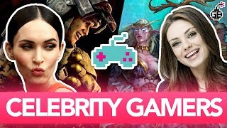 Celebrities GEEKING OUT Over VIDEO GAMES!