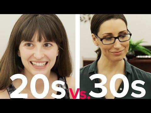 Dating: 20s Vs. 30s