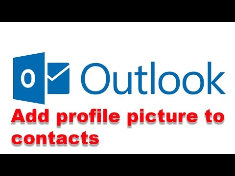 How to add profile picture to your contacts in Outlook express