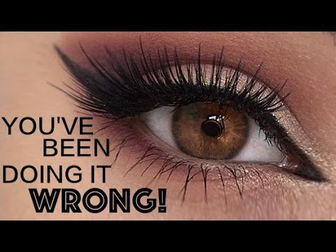 Applying False Lashes UNDERNEATH Your Own Top Eye Lashes | Best Beauty Tip/Hack Ever!