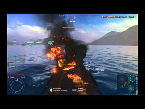 Robert Hutchings plays World of Warships