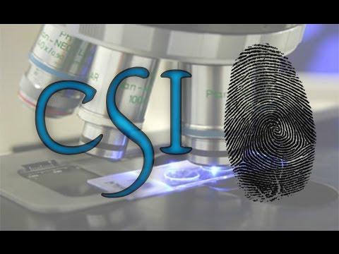 How to find your fingerprints   CSI