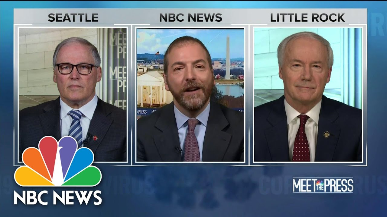Full Inslee & Hutchinson: 'We're Learning From Each Other' | Meet The Press | NBC News