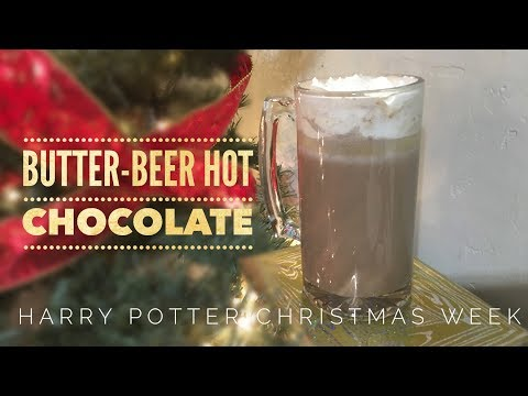 How To Make Butter Beer Hot Chocolate!!!