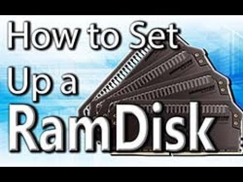 How to set up a RamDisk in Windows 7/8/10 - Tech Tip #1 [Tech Mojo]