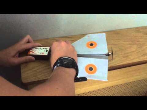 SkyDrive 3in1 Motorised Paper Plane