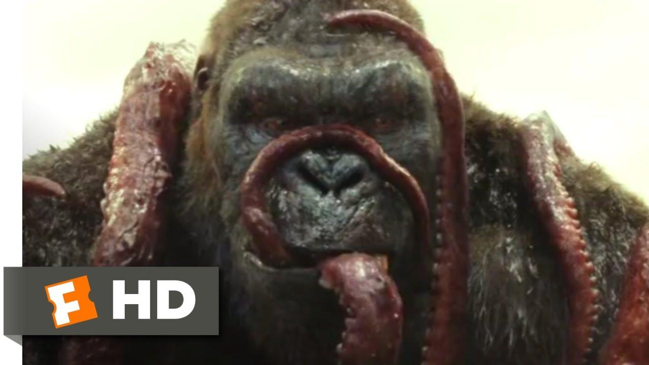 Kong: Skull Island (2017) - Kong vs. Giant Squid Scene (3/10)   Movieclips