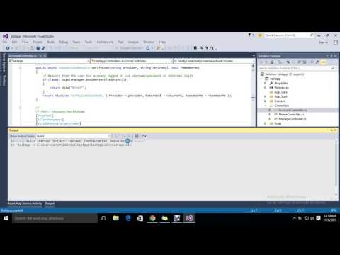 Getting Started with ASP NET MVC 5 |  Visual Studio 2015