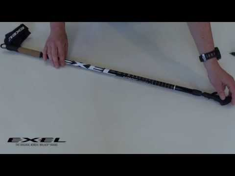 HOW TO GUIDE: Adjusting the length of the Exel Nordic Walker Sport X Adjust pole