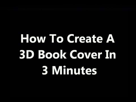 How To Create A 3D Book Cover In 3 Minutes