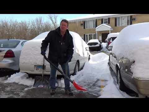 Ergonomic Snow Shovel - Snow Scoop