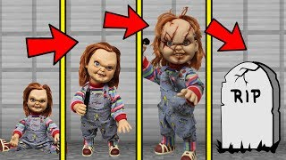 IF MINECRAFT CHUCKY HAD A REALISTIC LIFE SPAN (Be Born a Baby & Die Old)