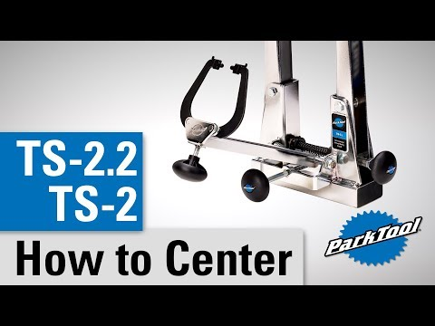 How To Center/Calibrate the TS-2 & TS-2.2 Professional Wheel Truing Stands