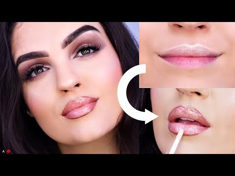 HOW TO FAKE Fuller & Big Lips (WITHOUT the Injections!!)