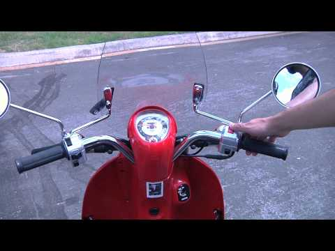 How to ride a scooter