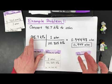 How to Convert Between Pressure Units: atm, mmHg, torr, kPa & psi