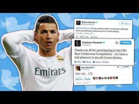 50 Funniest Footballers' Tweets