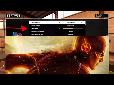 NBA 2k17 My Career - How To Change Game Speed !