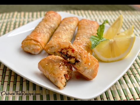 How to Cook Chicken Phyllo Rolls