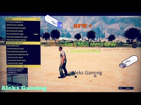 Gta 5 Mod MENU Online\Offline 1 25\1 26 (OFW) - PlayItHub