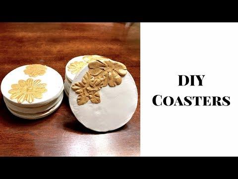 DIY Coasters: Crafts with Clay