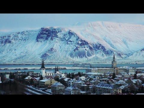 Reykjavík views from Perlan, Iceland
