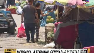 Mercado La Terminal debió cerrar sus puertas