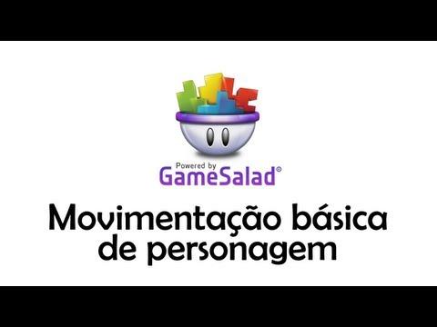 Criando um jogo com Gamesalad #01 - Movimentação básica de personagem (Direita, Esquerda e Pulo)