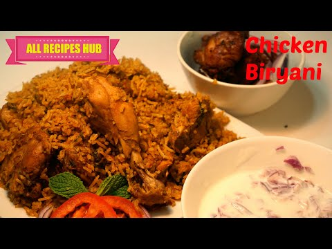 Chicken Biryani in Pressure Cooker - Chicken Biryani South indian