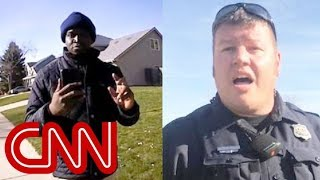 Watch both perspectives of this arrest