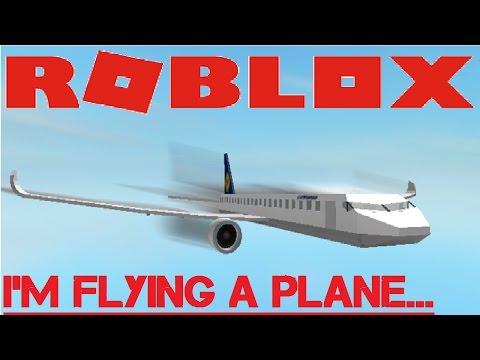 I'M FLYING A PLANE?!?! | ROBLOX | PLANE TESTING