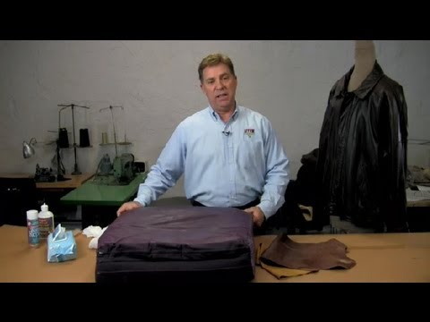 How to Clean Stains From a Leather Sofa : Leather & Fabric Care