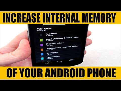 Increase internal memory upto 256 GB without ROOT|| 100% working