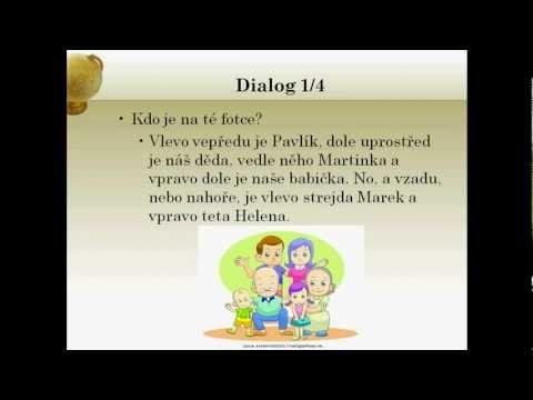 Learn Czech Online: Family + Possessives