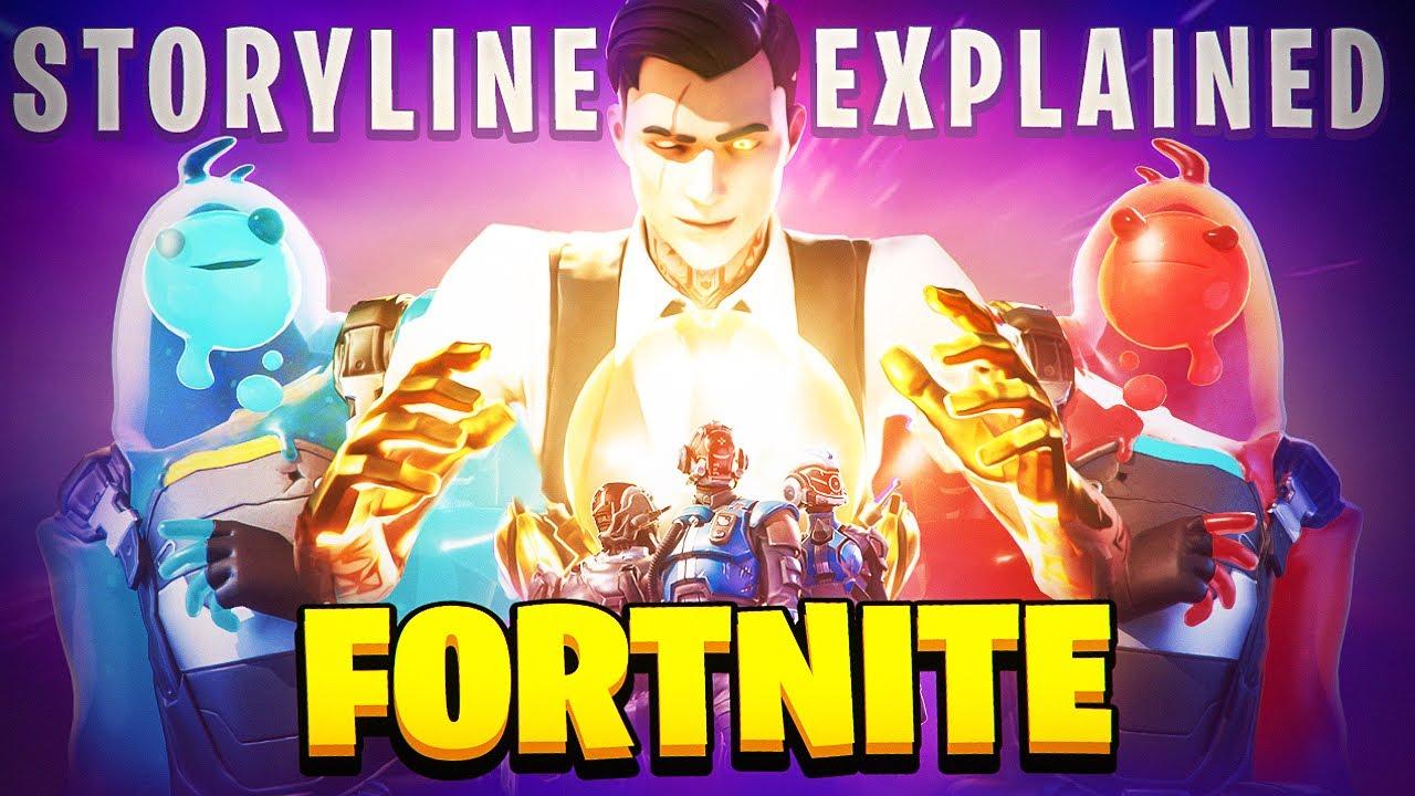 Fortnite Season 1-3 STORYLINE Explained!
