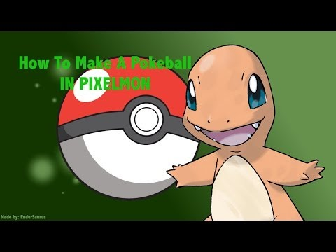 How To Make A Pokeball In Pixelmon