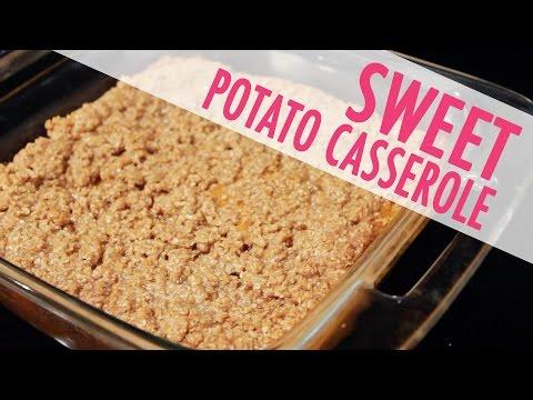 CINNAMON SUGAR CRUMBLE SWEET POTATO CASSEROLE | Recipes