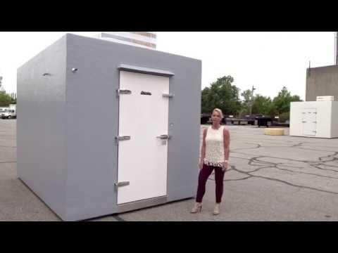 Polar King | Outdoor Walk In Cooler Freezer Combo | Efland, NC