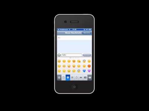 Smileys beim iPhone aktivieren / freischalten
