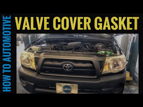 How to Replace the Valve Cover Gasket on a 2005-2015 Toyota Tacoma with 2.7L Engine