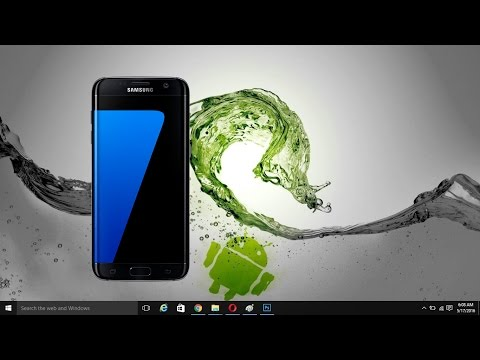 How to Screen Mirror Wirelessly Samsung Galaxy S7/S7 Edge & S6/S6 Edge  to PC