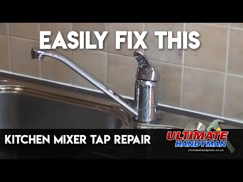 Kitchen mixer tap repair