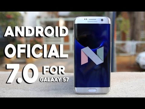ANDROID OFICIAL 7.0 NOUGAT ESTABLE GALAXY S7 EDGE/FLAT/Note 5 920C
