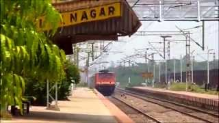 INDIAN RAILWAYS CELEBRATION 13 in 1 COMPILATION : Electric Actions at Bhilai Nagar
