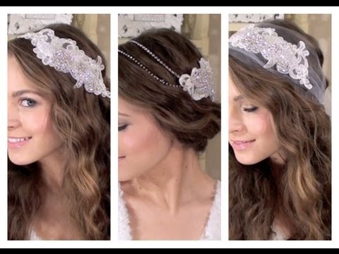 DIY 3 Boho Bridal Hair Accessories