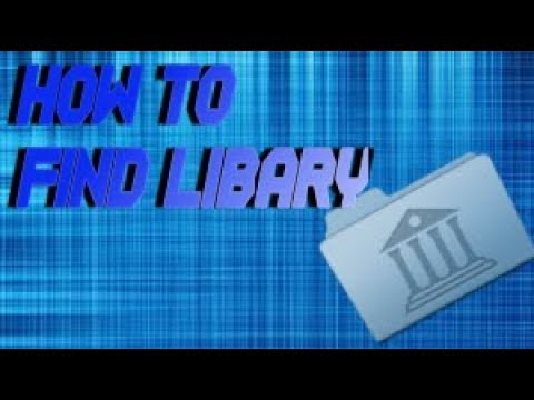 How to find the library folder on mac 2017 so easy