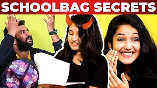 SUPER FUN: Baby Anikha's School Bag Secrets Revealed by VJ Ashiq   What's Inside the School Bag?
